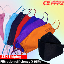 20-100 piece ffp2 mask fish,mascara facial masks kn95 ,Respirator Mascarillas fpp2 black masks,adult facial mask mouth ffp2 CE