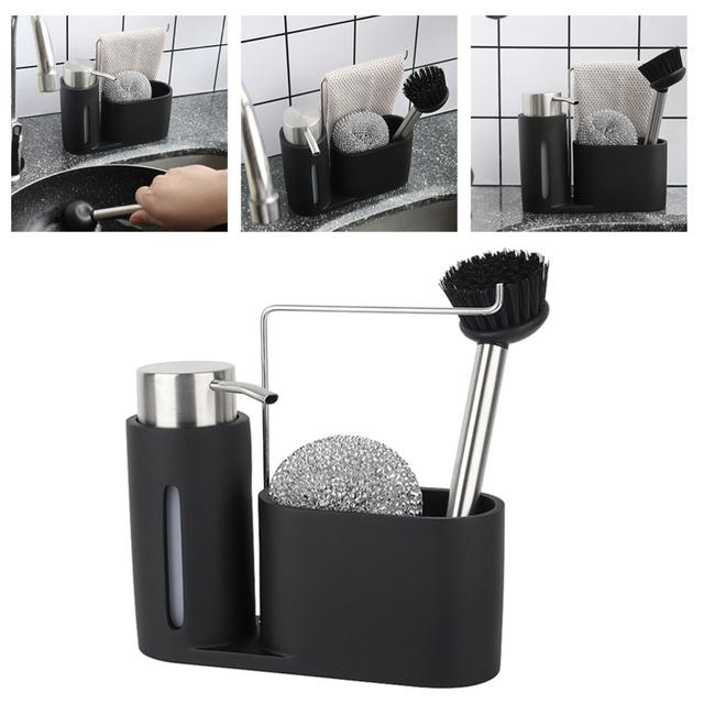 1PC kreatywny praktyczny trwały wygodny pojemnik stelaż półki uchwyt do kuchni tanie i dobre opinie