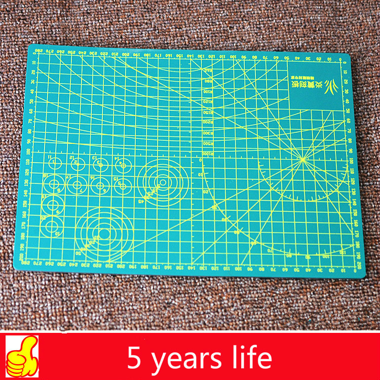 A4 Cutting Board Cutting Pad Self-repairing Engraving Board 220mm * 300mm (thickness 3mm) Manual Paper Cutting Pvc Cutting Board
