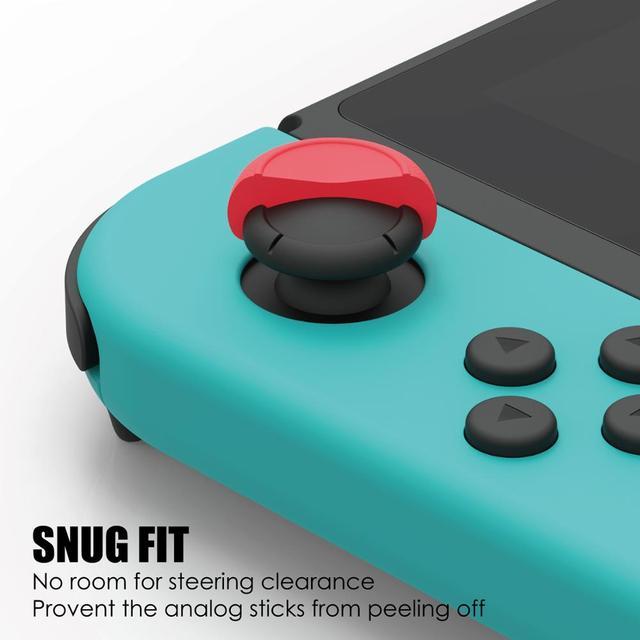 Skull & Co. FPS CQC Thumb Grip Set Joystick Cap Thumbstick Cover for Nintend Nintendo Switch Joy-Con Controller 4