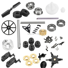 WLtoys V950 Main Gear Tail Blade Bearing Pull Rod M2 Nuts Rubber Ring Swashplate Rotor Head Tube Motor Gear Screws Clip Shaft on AliExpress