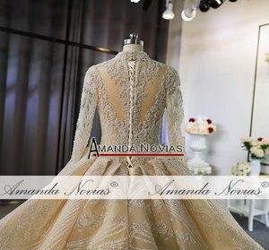 Image 2 - Роскошные свадебные платья с длинными рукавами