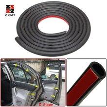 ZXMT 8Meter Big D Type Filler Adhesive Car Rubber Seal Sound Insulation Waterproof Anti Dust 3M Door Strip Weatherstrip