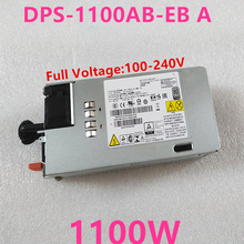 New PSU For Lenovo TD350 RD350 RD450 RD550 RD650 1100W Power Supply DPS-1100EB A