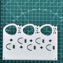 GJCrafts Strawberry Border Metal Cutting Dies New 2019 for Frame Scrapbooking Embossing Die Cut Stencil Craft Decor