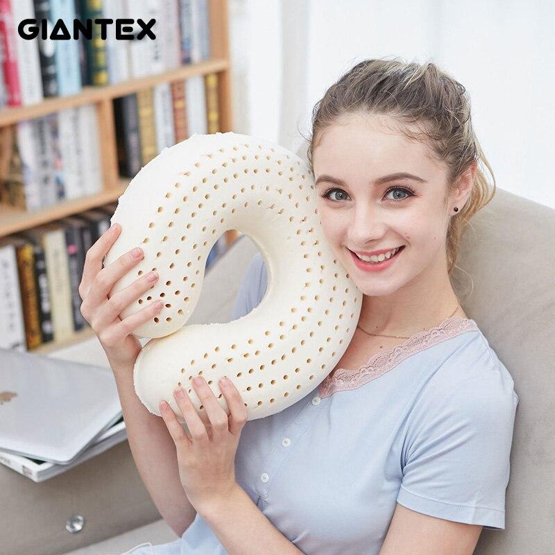 GIANTEX Car Travel Neck Pillow Memory Latex Pillow Pillows Orthopedic Pillow Kussens Oreiller Almohada Cervical Poduszkap U1172