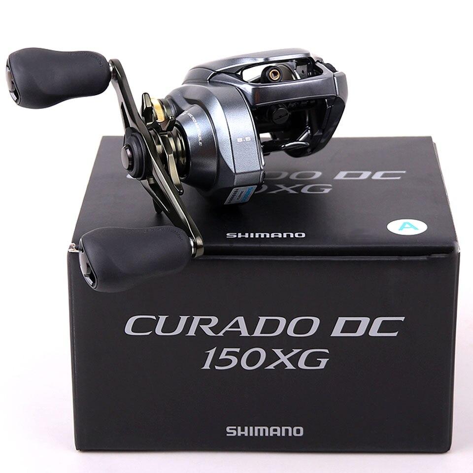 МУЛЬТИПЛИКАТОРНАЯ SHIMANO CURADO постоянного тока/CURADO K Рыболовная катушка 6,2: 1/7.4:1/8,5: 1 6 + 1BB 5 кг Мощность I-DC4 Системы прочность корпус гладкий светильник 4