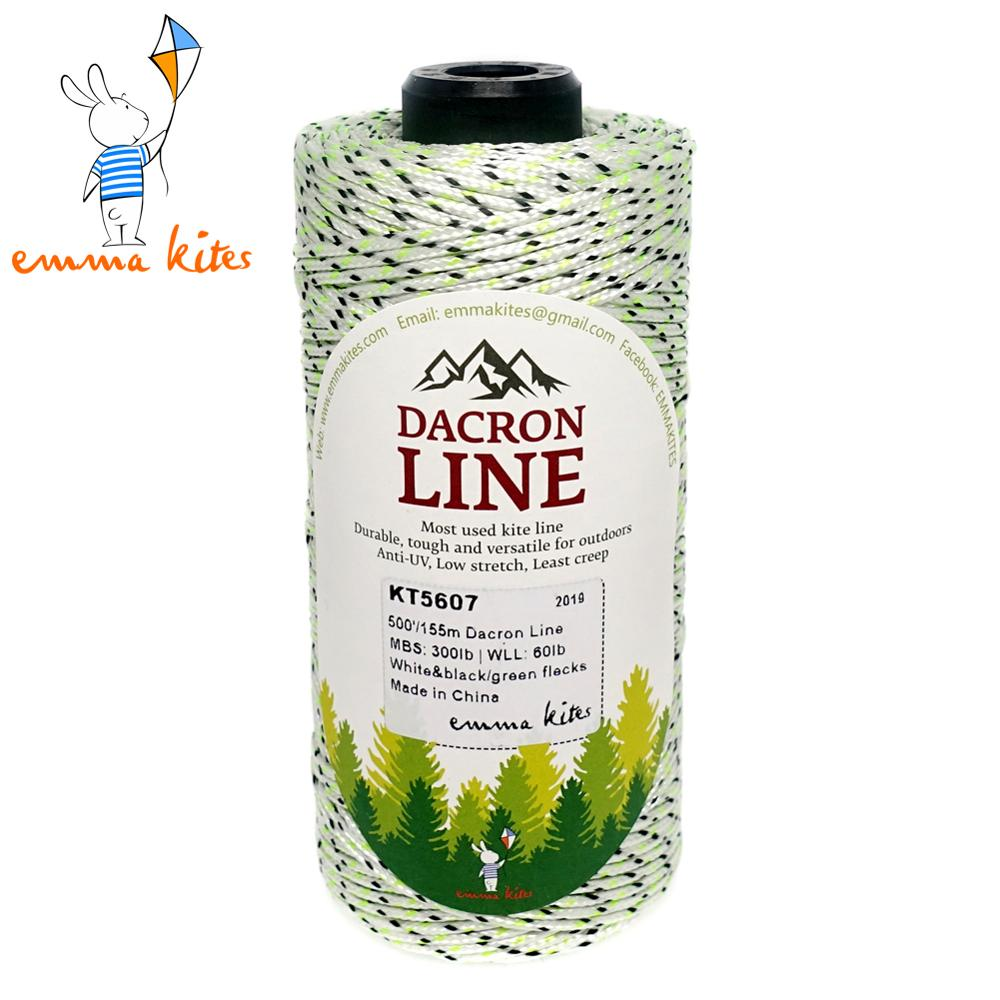 Dacron Lines 50lb - 500lb Braided Kite String Multi-functional Outdoor Use For Fishing Kite Flying Craft Packaging Tool