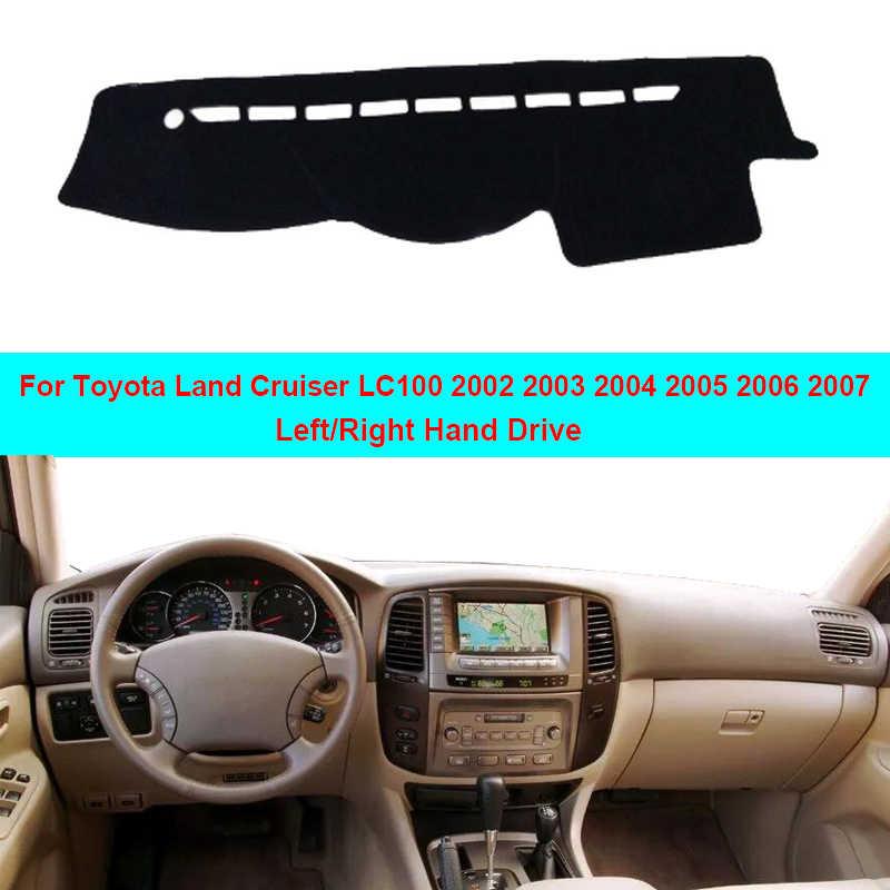 Fits Toyota Land Cruiser 2003-2007 Carpet Dash Board Cover Mat Mocha