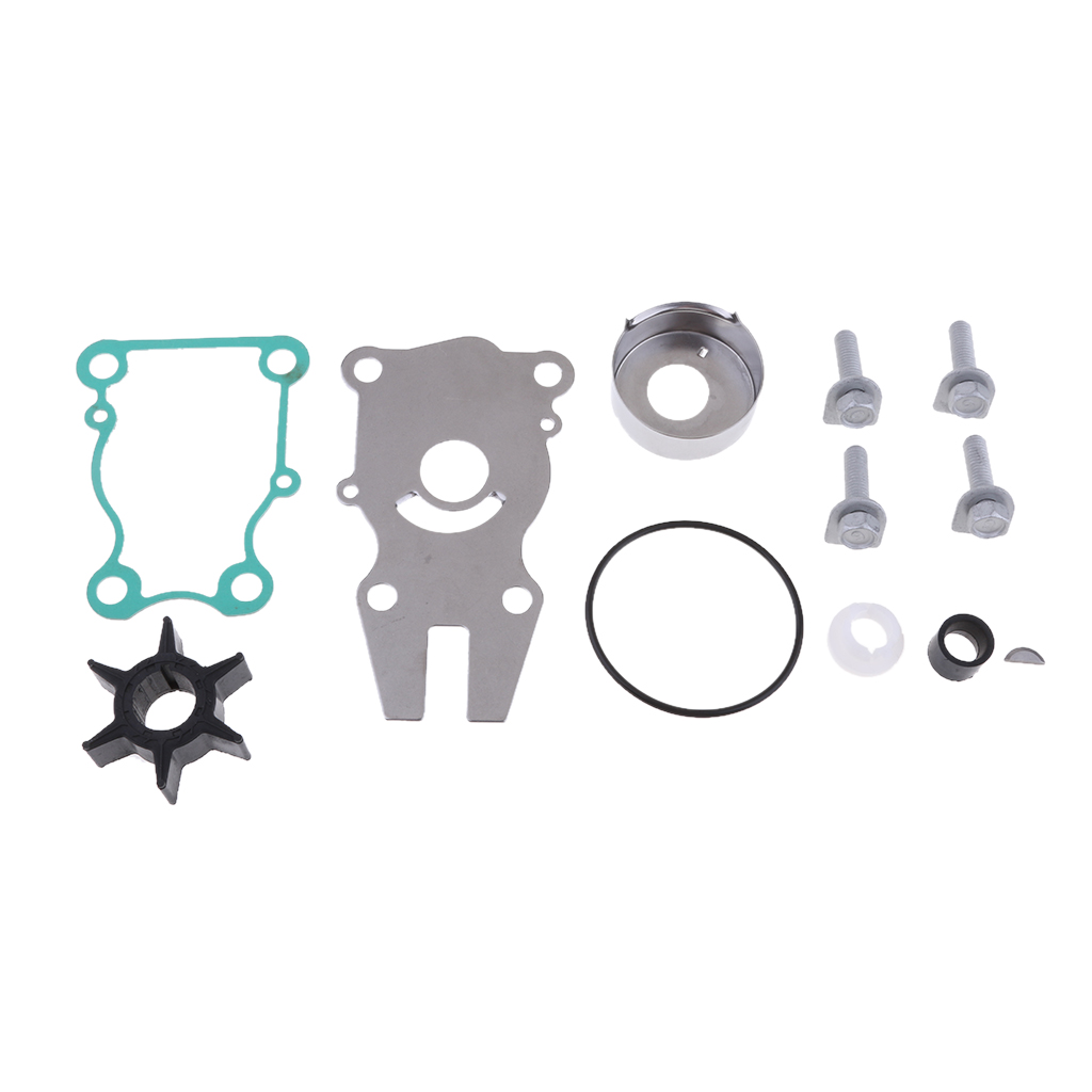 Water Pump Impeller Kit For Yamaha 63D-W0078-01 40 50 60 HP F40 F50 F60