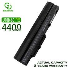 Golooloo Batería de 4400MaH para ordenador portátil Msi Wind k40in U90 U210 U100 U230 k40in BTY S12 3715A MS6837D1 6317A RTL8187SE TX2 RTL8187S