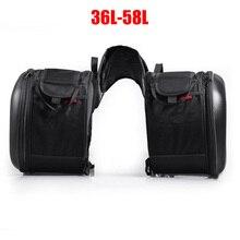 New Motorcycle Waterproof Racing Race Moto Helmet Travel Bags Suitcase Saddlebags + One Pair of Raincoat