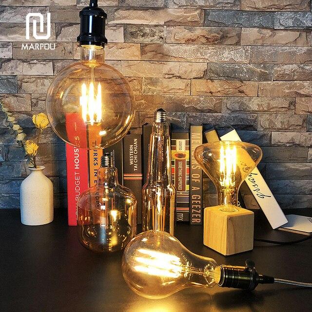Della Corda del LED Lampada a Sospensione Base AC85-265V Lampadina E27 Presa di Luce Creativa Paese Stile Loft Industriale Luce Del Pendente Decorazioni 6