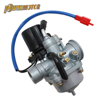 Motorcycle PZ19 19mm Carburetor with Electric Choke for Yamaha 2 Stroke 50cc 70cc 90cc Jog ATV Scooter Quad Go-kart Moped goofit gy6 4 stroke ignition coil plug for china made 50cc 70cc 90cc 110cc 125cc atv scooter dirt bike go kart moped h053 018 2