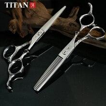 TITAN hairdresser barber hairdressing scissors free shipping