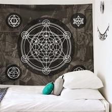 Tapestry Mandala Tarot Magic-Array Medieval Dorm-Decor Divination Wall-Hanging Astrology