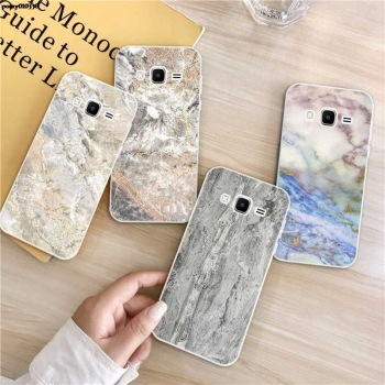 Marble 1 Silicon Soft TPU Case Cover For Samsung Galaxy Core Grand Prime Neo Plus 2 G360 G530 I9060 G7106 Note 3 4 5 8 9 image