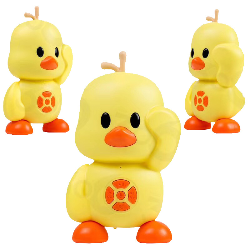 Robot Intelligent Smart AI Learning-2.4 Dialogue Duck Online Early-Education Small Yellow