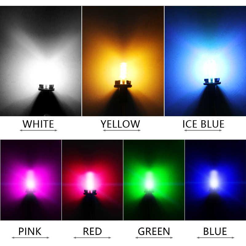 Baru Aksesoris Mobil T10 W5W LED Mobil Interior COB Marker Lampu DC 12V 168 194 501 Sisi Wedge parkir Bulb CANBUS Mobil Styling