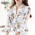 Модные женские топы и треугольным вырезом обтягивающая шифоновая блузка женская одежда 2021 офис Повседневная обувь для женщин размера плюс ...