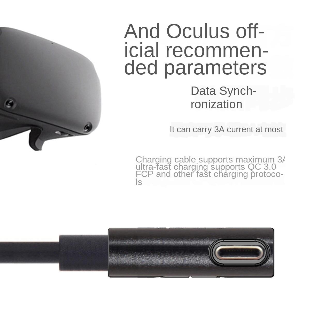 За Oculus Link USB-C Steam VR Quest / 2 Type-C 3.1 кабел за - Преносимо аудио и видео - Снимка 3