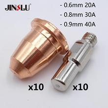 20A 30A 40A ponad 30 sprzedawane 20 sztuk S45 CUT55 PT 40 PT40 IPT 40 HC4000 PR0110 elektrody PD0116 końcówki do dyszy Fit telwin w osoczu 34