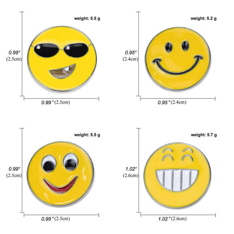 4 รูปแบบการ์ตูนเด็กเข็มกลัด Pins ตลกแว่นตากันแดดหมกมุ่น Smiley Badge PARTY เครื่องแต่งกาย COSPLAY เสื้อของขวัญกระเป๋าอุปกรณ์เสริม