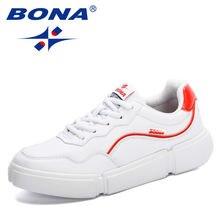 Bona/Новое поступление 2020 года; Модная дышащая Вулканизированная