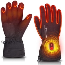 Electric Skiing Heated Gloves Winter Outdoor Sports Thermal Heating Gloves Skiing Motorcycle Biking Hunting for Men Women 2020