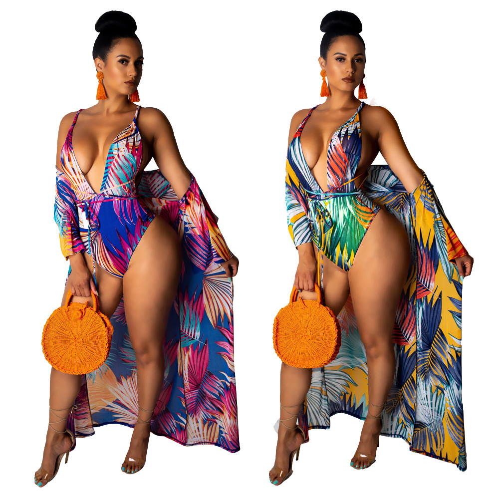 YM-8356 Amazon Separate Station Hot Selling Europe And America Sexy Bikini Swimwear Two-Piece Set-Style WOMEN'S Suit
