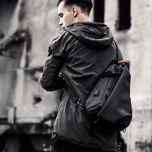 Image 2 - Tangcool Brand Design Fashion Unisex Men Leisure Messenger Bags s Cross Body Bags Leisure Chest Pack Shoulder Bags for Ipad