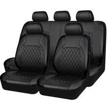 2021 couro do plutônio novo stype universal assento de carro cobre airbag compatível à prova dwaterproof água automóvel acessórios interiores caber a maioria dos carros