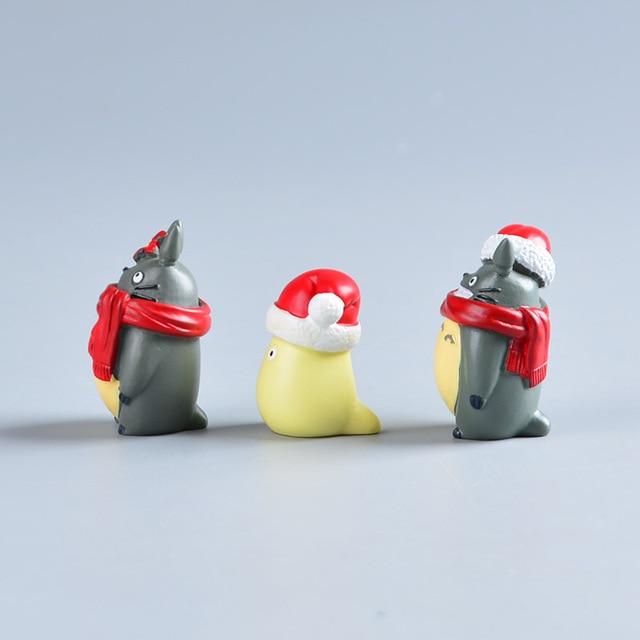 Аниме фигурки Тоторо Рождество 4