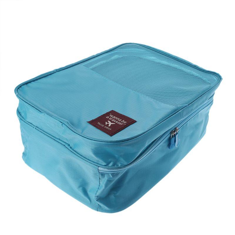 Men Women Shoes Bag Travel Storage Organizer Dust Rugby Sports Gym Carry Box New LX9C