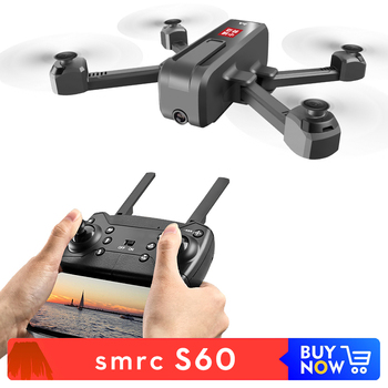 SMRC S60 Professional Folding Quadcopter Drone With Camera HD WIFI Remote Control For Toys Kid RTF Dron 4k Drone