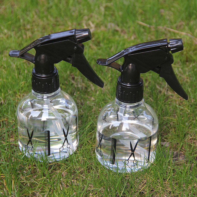 Hot Sale 250ml Hair Salon Tools Plastic Spray Bottle Plants Flowers Hairdressing Water Sprayer Refillable Bottles