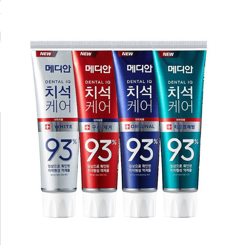 Median Dental Care 93% Advanced Tartar Solution Toothpaste 120g Korea Whitening Toothpaste Smoke Stains Remove Teeth Oral Care