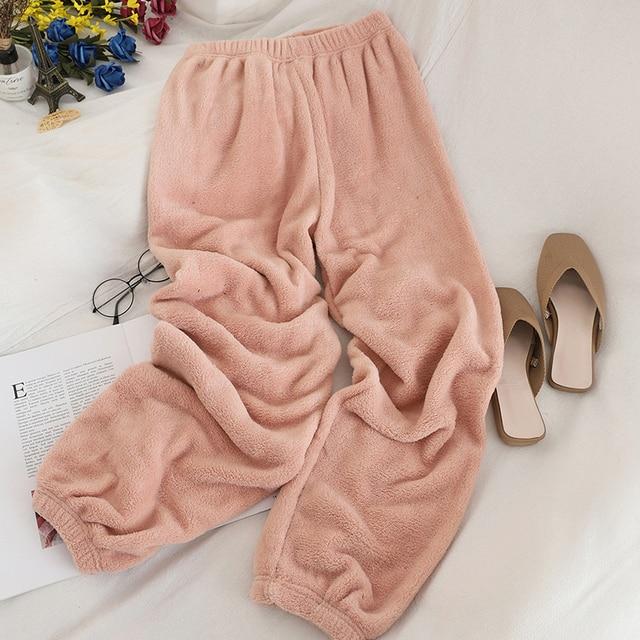 Heliar Underwear Thermal Winter Pants Women Elastic Outerwear Warm Velvet Trousers For Women Long Pants Woolen Loose Pants Women 5