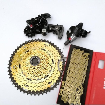LTWOO AT12 MTB 12 Speed Groupset 12s 11-52T Cassette Shifter Carbon Rear Derailleur YBN Chain 4 Kits Set For Shimano SRAM цена 2017