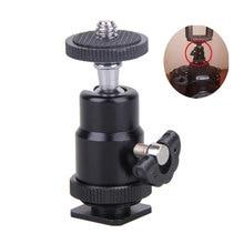 Мини-держатель для камеры, штатив с шаровой головкой, светодиодный светильник, кронштейн для вспышки, крепление 1/4 дюйма, адаптер для горячего башмака с замком, дешевая распродажа