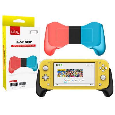 Portable Stretch Ergonomic Design Portable Joypad Hand Grip+Gamepad Stand Holder For Nintend Switch NS-Switch Lite Game Console