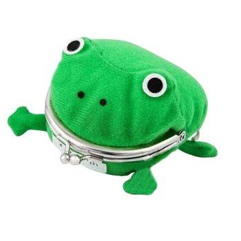 Creative Cartoon Frog Coin Purse Naruto Wallet Anime Coin Purse Green Frog Wallet Jj11026 creative home cartoon frog shape plastic small desktop trash green
