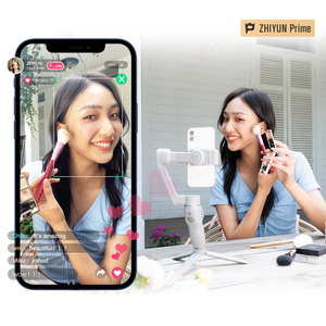 Image 4 - ZHIYUN חלק Q3 3 ציר טלפון Gimbal גמיש כף יד מייצב עם למלא אור עבור Smartphone iPhone Xiaomi Huawei אנדרואיד ce