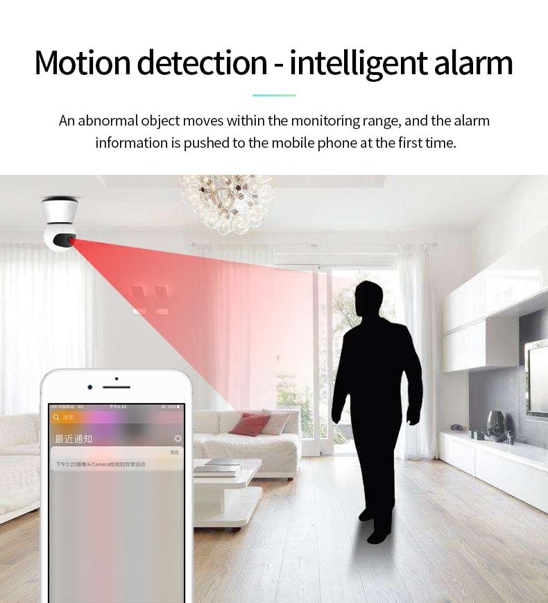 H2a77304b6ccb4850956ed959a3845adaA 720/1080P PTZ Wireless Mini IP Camera Move Detection Infrared Night Vision Home Security Surveillance Wifi Camera Cloud Service