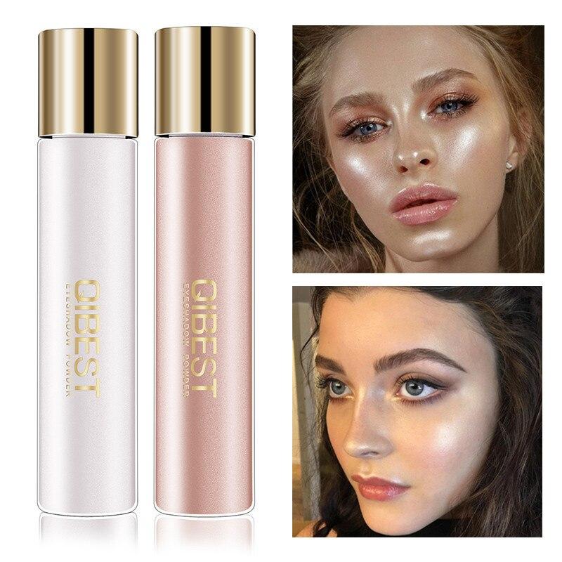 Brighten Face Glow Highlighter Shimmer Loose Eye Shadow Powder Makeup Pigment Waterproof Glitter Eyeshadow Eyes Powder Cosmetic