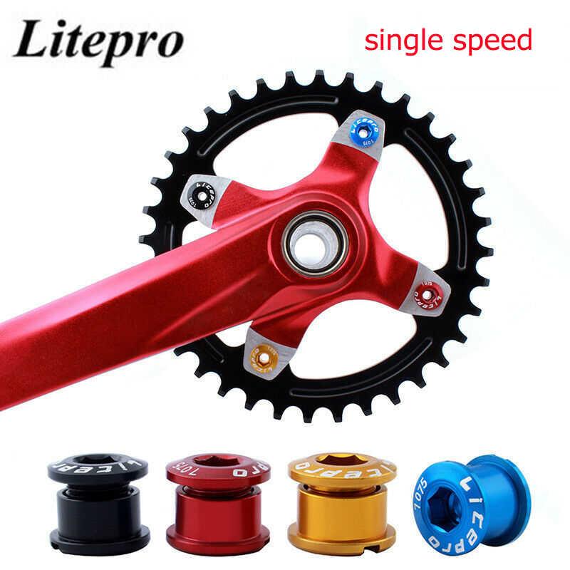 Single//Double//Triple Speed Chainwheel Screws MTB Bike Sprocket Chainring Bolts