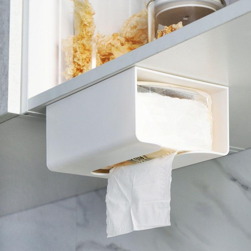 الأنسجة درج الكرتون المنزلية صندوق تخزين غرفة المعيشة الحرة لكمة منديل منديل مناديل حمام يمكن تخزين