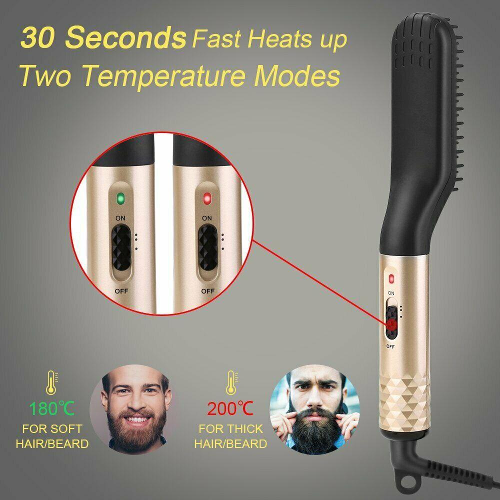 Beard Straightener Brush 6