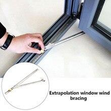 Держатель окна ветрозащитный фиксатор безопасный ограничитель открывания двери защитный держатель прочный фиксатор ограничитель для блокировки окон раздвижные окна безопасности створки замки