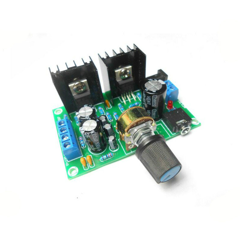 SOTAMIA Mini <font><b>TDA2030</b></font> Power <font><b>Amplifier</b></font> Audio Board 2*15W 2.0 Stereo <font><b>Amplifiers</b></font> DC/AC12V DIY Sound System Speaker Home Theater image